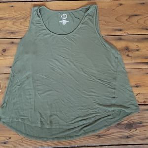 Maurices 24/7 Swing Tank Olive Size 2x